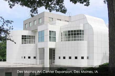 Des Moines Art Center Expansion, Des Moines, IA